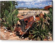 Desert Classic Acrylic Print by Aidan Moran
