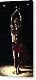 Desert Dancer Acrylic Print by Richard Young