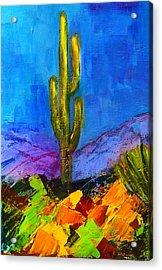 Desert Giant Acrylic Print by Elise Palmigiani