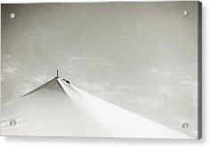 Desert Peak Acrylic Print by Scott Norris