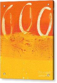 Desert Sun Acrylic Print by Linda Woods
