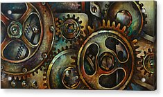 Design 2 Acrylic Print by Michael Lang
