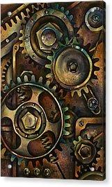 Design 3 Acrylic Print by Michael Lang