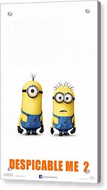 Despicable Me 2  Acrylic Print by Movie Poster Prints