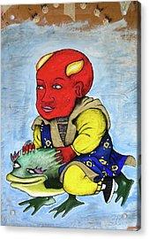 Devilboy Acrylic Print by Billy Knows