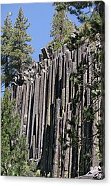 Devils Postpile National Monument - Mammoth Lakes - East California Acrylic Print by Christine Till