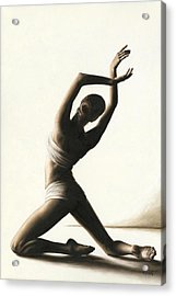 Devotion To Dance Acrylic Print by Richard Young