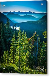 Dewey Lake Acrylic Print by Inge Johnsson