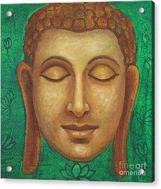 Dhyana Buddha Acrylic Print by Nayna Tuli Fineart