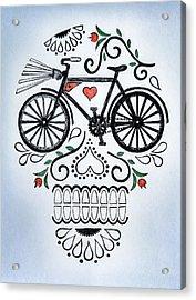 Muertocicleta Acrylic Print by John Parish
