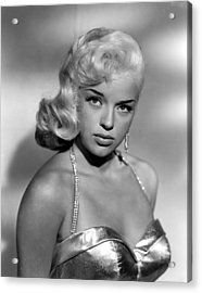 Diana Dors, Universal Pictures Acrylic Print by Everett