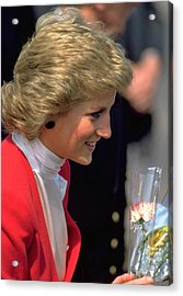 Acrylic Print featuring the photograph Diana Princess Of Wales by Travel Pics