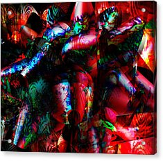 Diaspora Culture - A State Of Being Acrylic Print by Fania Simon