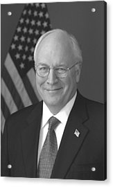 Dick Cheney Acrylic Print by War Is Hell Store
