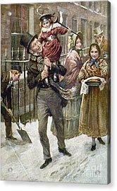 Dickens: A Christmas Carol Acrylic Print by Granger