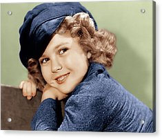 Dimples, Shirley Temple, 1936 Acrylic Print by Everett