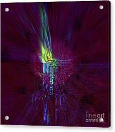 Divine Light - No External Pressure Acrylic Print by Fania Simon