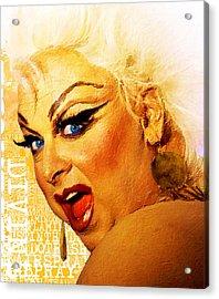 Divine Acrylic Print by Tony Rubino
