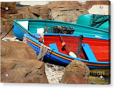 Acrylic Print featuring the photograph Docked by Joel Witmeyer
