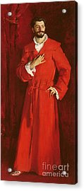 Doctor Pozzi At Home, 1881 Acrylic Print by John Singer Sargent
