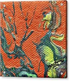 Dodo Bird Uprising Acrylic Print by Donna Blackhall