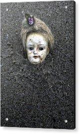 Doll's Head Acrylic Print by Joana Kruse
