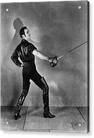 Don Q Son Of Zorro, Douglas Acrylic Print by Everett