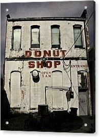 Donut Shop Acrylic Print by Chris Berry