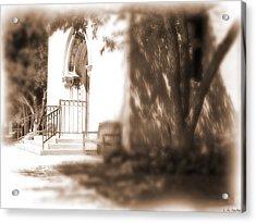 Door To Yesterday Acrylic Print by Lauren Radke
