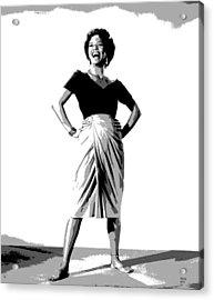 Dorothy Jean Dandridge Acrylic Print by Charles Shoup
