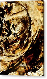 Double Espresso Acrylic Print by Sharon Cummings