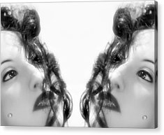 Double Vacancy - Self Portrait Acrylic Print by Jaeda DeWalt
