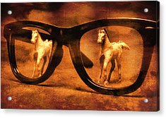 Double Vision Acrylic Print by Jeff  Gettis