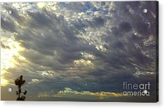 Down Blanket Acrylic Print by Tracy Evans