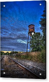 Down By The Tracks Acrylic Print by Marvin Spates