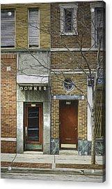 Downer Acrylic Print by Scott Norris