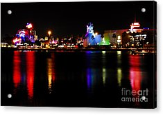 Downtown Disney  Acrylic Print by David Lee Thompson