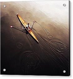 Dragonfly Acrylic Print by Fulvio Pellegrini