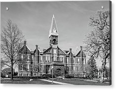 Drake University Old Main Acrylic Print by University Icons