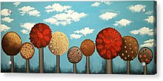 Dream Grove Acrylic Print by Graciela Bello