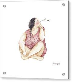 Dreamer Acrylic Print by Soosh