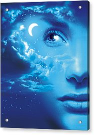 Dreaming, Conceptual Image Acrylic Print by Smetek