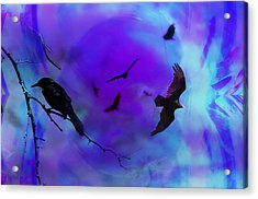 Dreaming Of Flying Acrylic Print by Bill Cannon