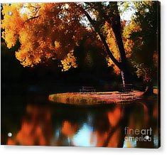 Dreamy Afternoon Acrylic Print by Terril Heilman