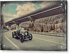 Drive To The Brenner Pass Acrylic Print by Duschan Tomic