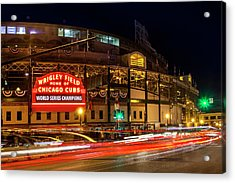 Driving Past History Acrylic Print by Andrew Soundarajan