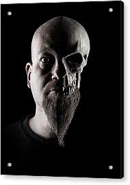 Duality Acrylic Print by Petri Damsten