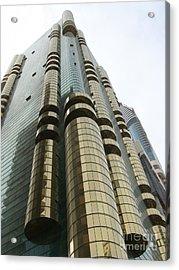 Dubai Building 01 Acrylic Print by Mike Holloway