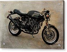 Ducati Acrylic Print by Teresa Zieba
