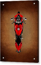 Ducati The Art Of The Motorcycle Acrylic Print by Mark Rogan